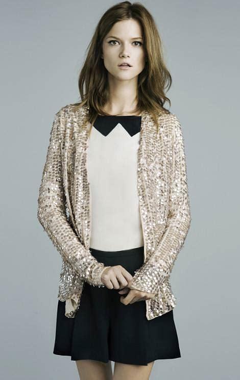 Zara colección de fiesta 2011 2012, vestidos y looks de ...