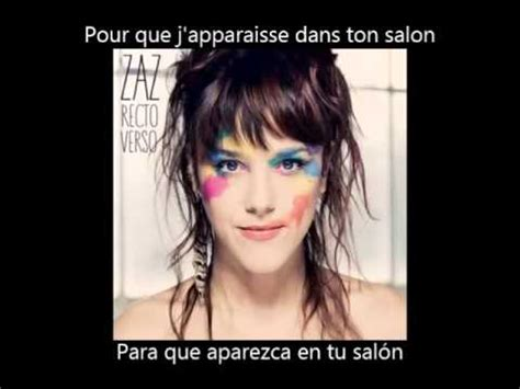ZAZ - Gamine (Paroles + Subs en Español) - YouTube