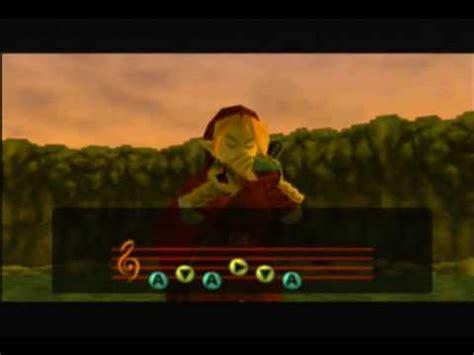Zelda Ocarina Of Time - Canciones De la Ocarina - YouTube