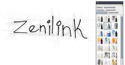 Zenilink: My paint | Programa de dibujo.