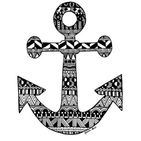 zentangle anchors   Google Search | zentangle | Pinterest ...