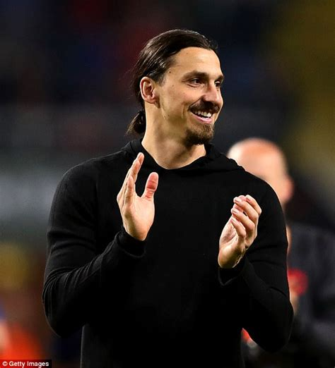 Zlatan Ibrahimovic teases fans by donning football boots ...