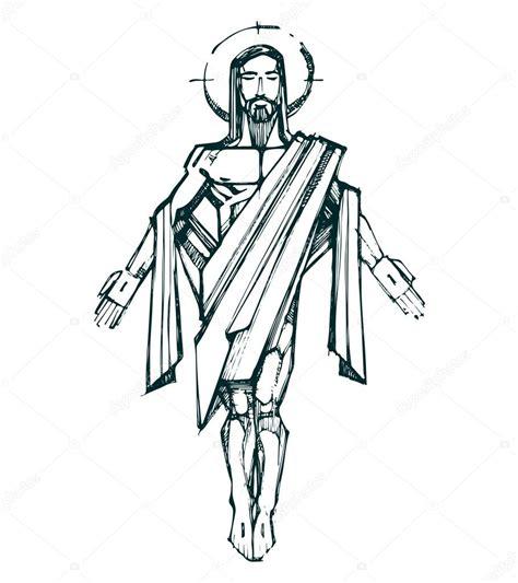 Zmartwychwstanie Jezusa Chrystusa — Grafika wektorowa ...