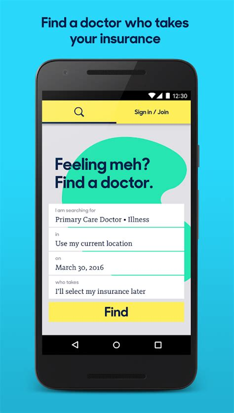 Zocdoc: Find & book a doctor   Android Apps on Google Play