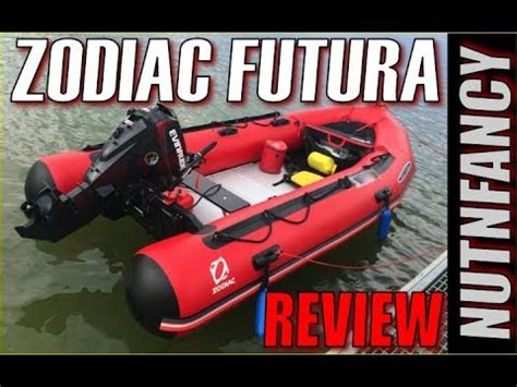 Zodiac Futura Inflatable Boats REVIEW Pt 1 - YouTube