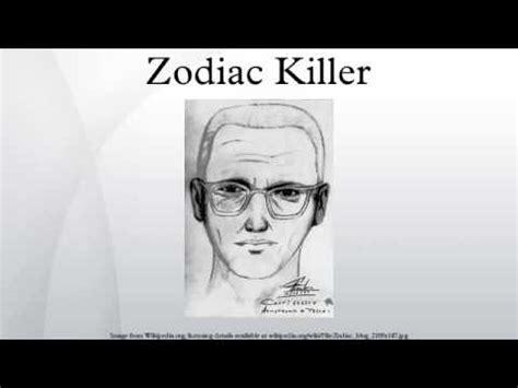 Zodiac Killer - YouTube
