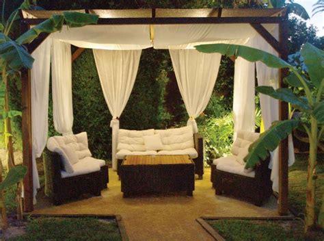 Zona Chill Out Jardin. Good Las Vistas Ms Bonitas With ...