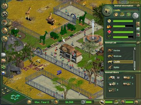 Zoo Tycoon (2001) - screenshots gallery - screenshot 4/9 ...
