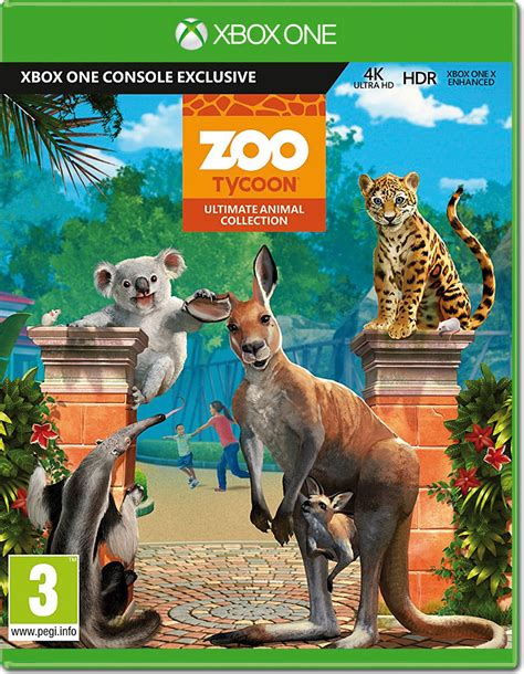 Zoo Tycoon - Ultimate Animal Collection [Xbox One] • World ...