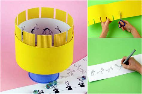 Zoótropo casero   Actividades para niños, manualidades ...
