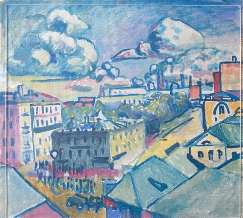 Zubovsky Square in Moscow - Wassily Kandinsky