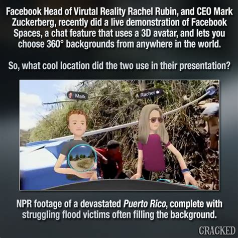 Zuckerberg s VR Tour Of Puerto Rico Proves He s An Alien ...
