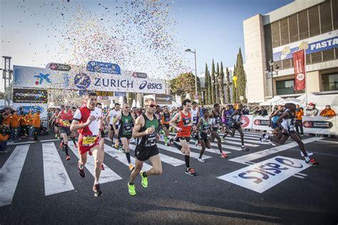 Zurich Marato Barcelona - Barcelona, Spain - 3/10/2019 ...