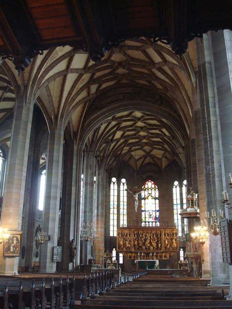 Zwickau, St.Marien, dreischiffige Hallenkirche von 1453-63 ...
